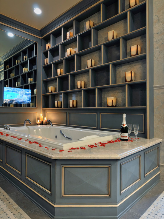 Kitchendesigns Com Ken Kelly Master Bath (New York)