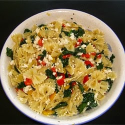 Pasta – Sweet Pepper Pasta Toss With Kale