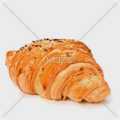 Croissant Isolated On White Background