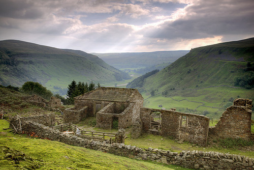 Ancient Ruins, Yorkshire, England