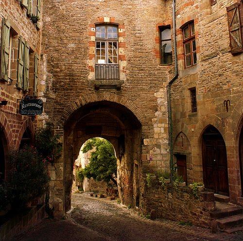 Ancient Archway, Cordes-sur-Ciel, France