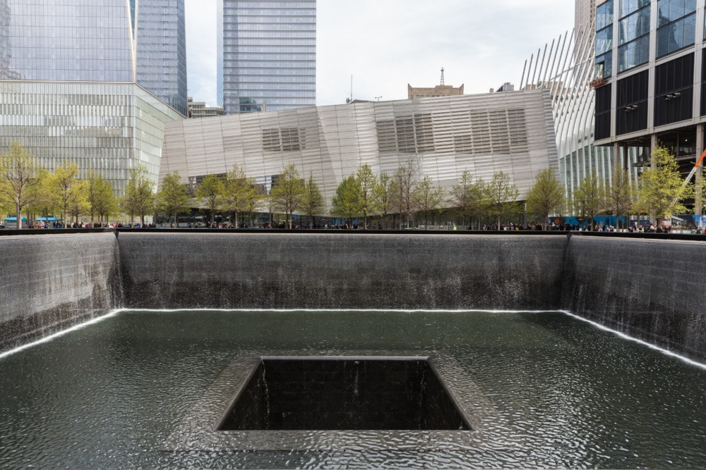 Waterfall Memorial Plaza