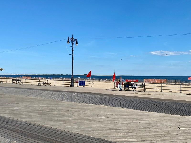 Brighton Beach During Covid -19