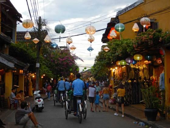 Cyclo a Hoi An, Vietnam