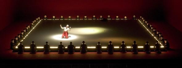 Escena de Rigoletto (Foto: Teatro Real)