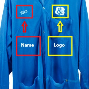 Order Embroidered Smocks and Lab Coats