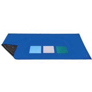 Anti Static ESD Workstation Desk Top Mats in Dark Blue