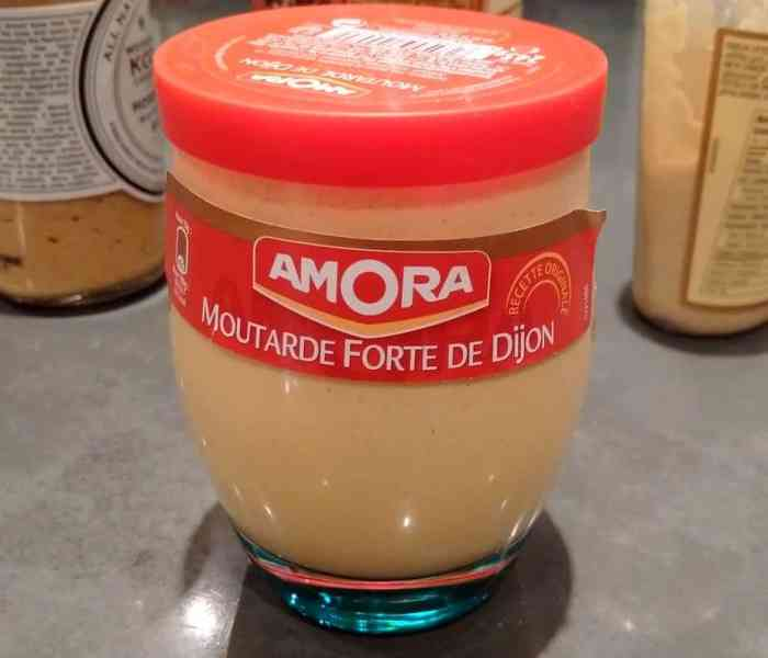 The Mustard Report: Amora Dijon