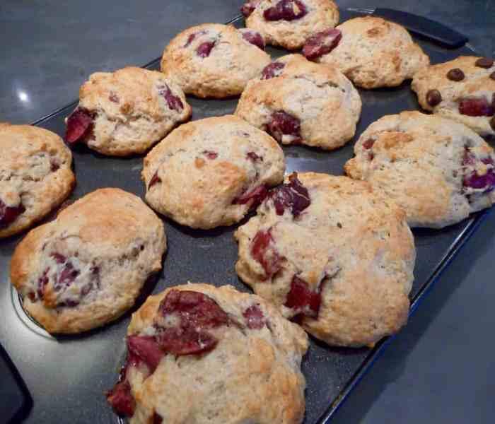 Cherry Bomb Muffins