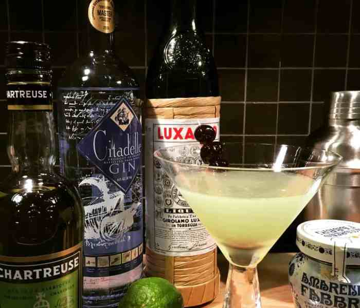 Super Luxe Luxardo Cocktails