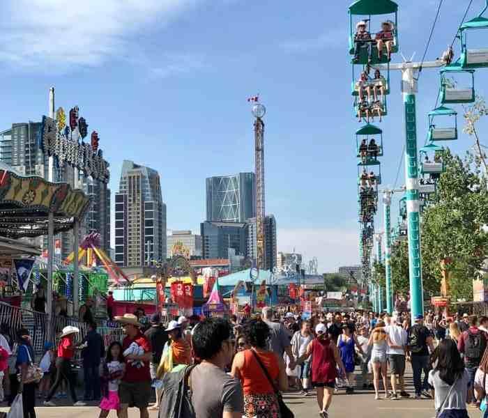Calgary Stampede – Fun & Food