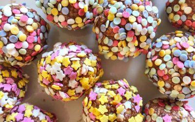 Chokladbollar med maltesers