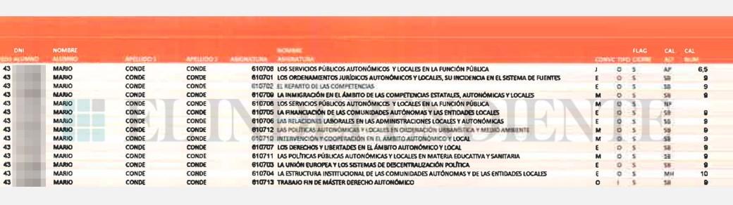 Notas Mario Conde