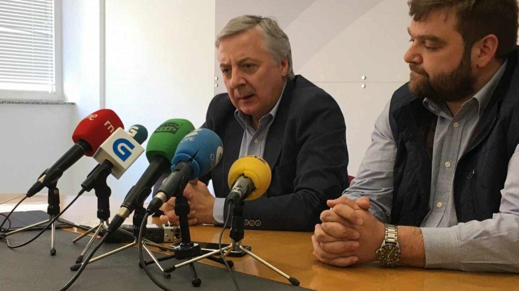 El ex ministro de Fomento en un acto del PSOE el pasado mes de mayo.