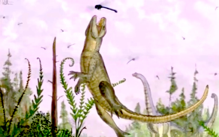 Pakasuchus kapilimai descubierto en Tanzania
