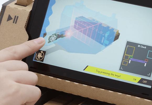 Nintendo Labo o cómo convertir el cartón en su máxima tecnología