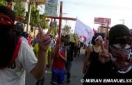 Brutal represión en Honduras
