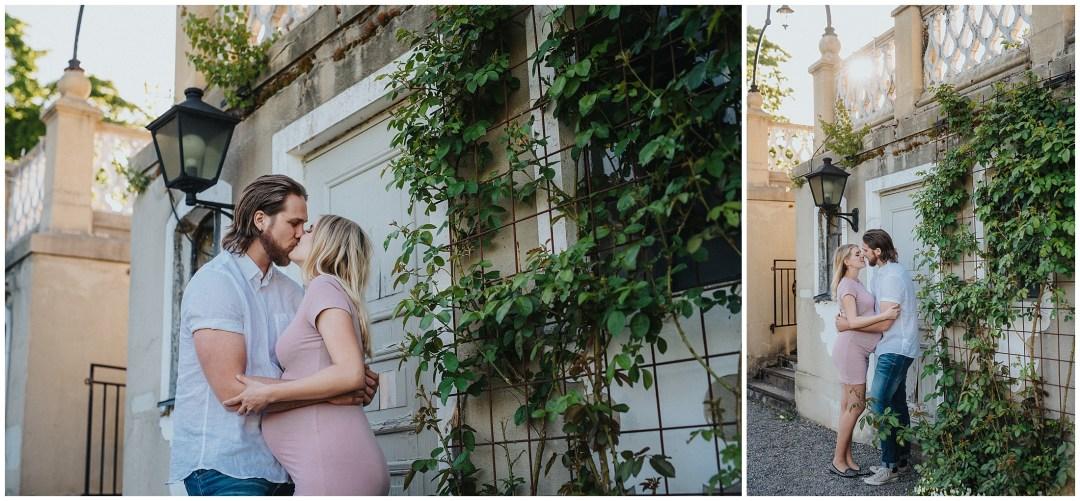Gravidfotografering på Hågelby