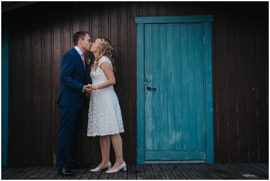Maria och Magnus bröllop i Lida Kyrka i Tullinge