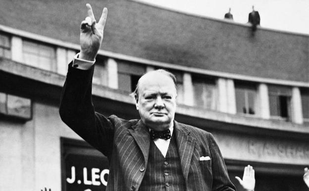 "Discurso de Churchill,""Land of hope and glory""."