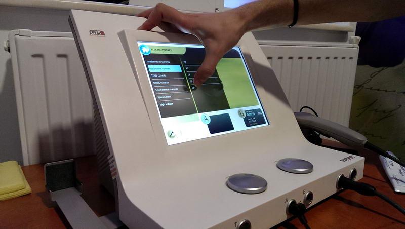 aparat modern fizioterapie
