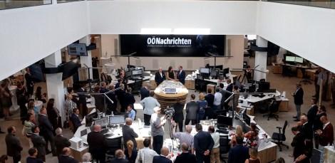 Eröffnung OÖN-Newsroom