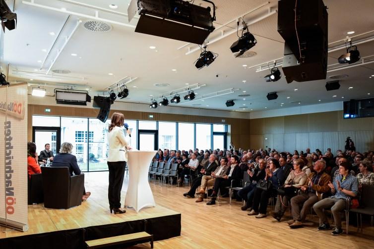 Eröffnung OÖN Forum
