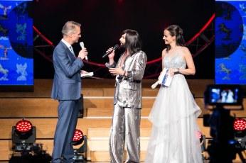 Mit Klaus Obereder und Conchita