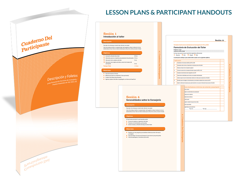 Institute for Reproductive Health lesson plans and participant handouts