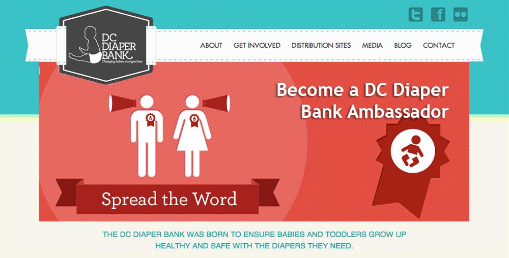 DC Diaper Bank become an ambassador slider image