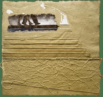 Anniversario II - Carta, 53x53, 2013
