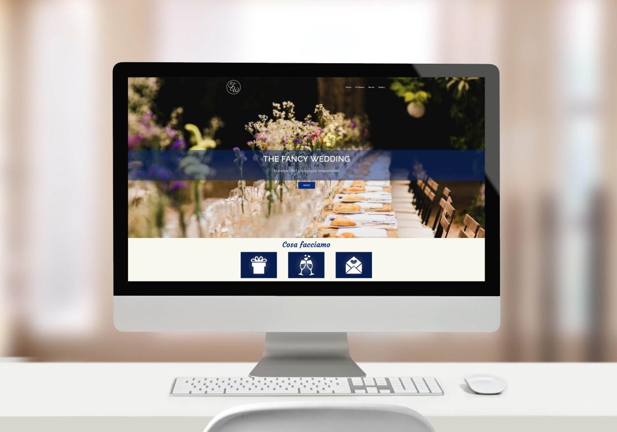 The fancy wedding desk website