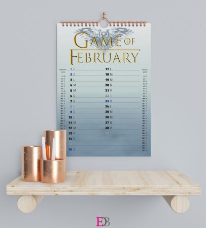 Calendario personalizzato - Series Addicted