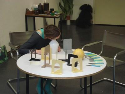 Was bleibt? Performance und Rauminstallation, 2010 (Foto: Frank Robert Michels)