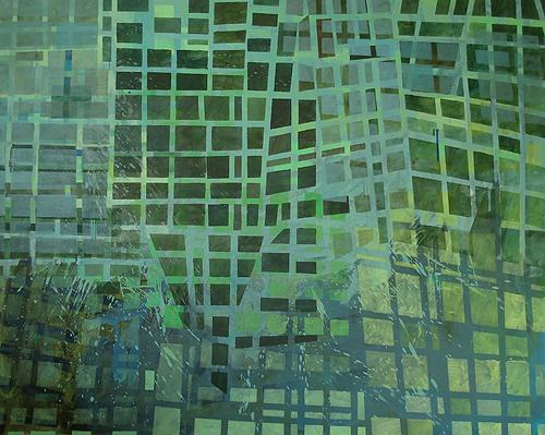 Glietzen, Acryl auf Leinwand, 160 x 200 cm, 2012