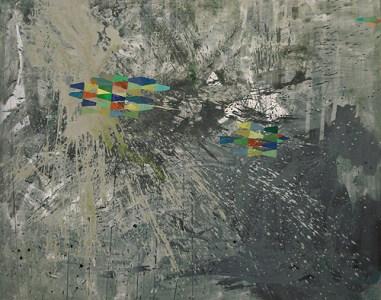Schmielen, Acryl auf Leinwand, 160 x 200 cm, 2011