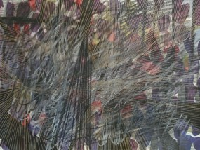 Lebbin, Mischtechnik auf Papier, 21 x 29,7 cm, 2009