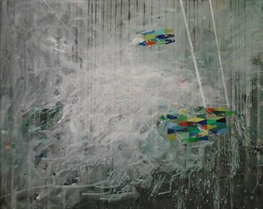 Mallnow, Acryl auf Leinwand, 160 x 200 cm, 2011