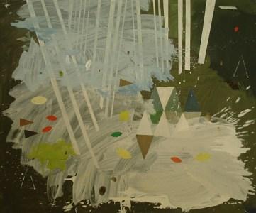 Garzau, Öl auf Leinwand, 100 x 120 cm, 2008