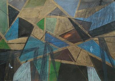 Platkow, Mischtechnik auf Papier, 21 x 29,7 cm, 2011