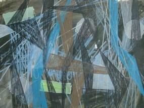 Gottow, Mischtechnik auf Papier, 21 x 29,7 cm, 2010