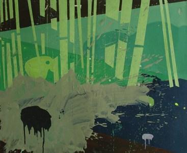 Gatow, Öl auf Leinwand, 100 x 120 cm, 2009