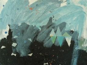 Ufer, Öl auf kaschierter Hartfaser, 24 x 30 cm, 2008