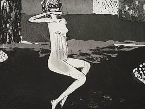Maske, Aquatinta, 21 x 29,7 cm, 2007