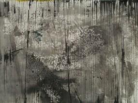 Sumpf und Dickicht, Tusche auf Papier, 21 x 29,7 cm, 2009