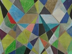Erleuchtung, Mischtechnik auf Papier, 21 x 29,7 cm, 2009