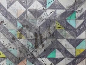 Wokuhl, Mischtechnik auf Papier, 21 x 29,7 cm, 2016