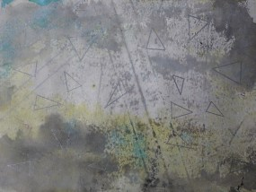 Neverin, Mischtechnik auf Papier, 21 x 29,7 cm, 2016