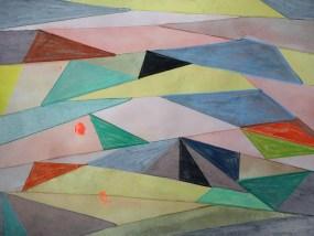 Retzow, Mischtechnik auf Papier, 21 x 29,7 cm, 2016