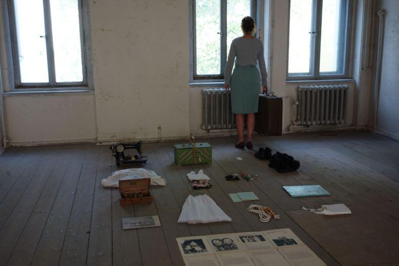 Vanish, Rauminstallation und Performance, Zukunftsvisionen Festival Görlitz, 2017